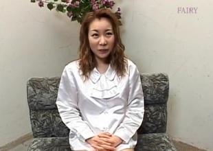 Ayumi Natsukawa wilderness fingers in her nooky