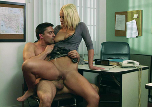 Lexi Swallow & Toni Ribas with regard to Sex with an increment of Corruption 2, Scene 5