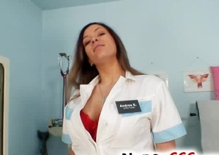 Busty nurse Stella Fox priceless big tits