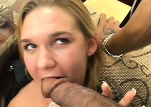 Milf old bag gets nailed by four cocks and gets all holes drilled, a DP and a facial