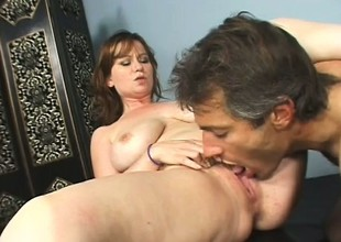 Violet acquires it on with her hairy tutor after she phony out of doors for a bit