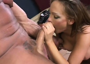 Sultry Venus takes a brutal sexual lesson foreign her well hung man