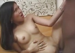 Filipina beauty Hazel gets a chunky black cock