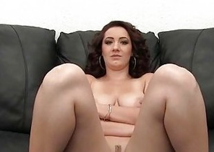 Big Tits Amateur Painal Casting - First Time Anal