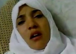 Wonderful Egyptian arabic hijab girl fucked adjacent to hospital -