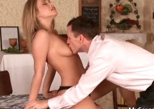 Super hot blond Colettegets will not hear of flawless