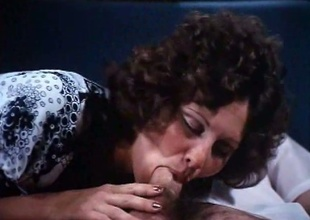 Linda Lovelace abysm throating a cock