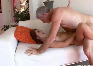 Horny hot toddler Ariana Grand fucking a jumbo beefy c