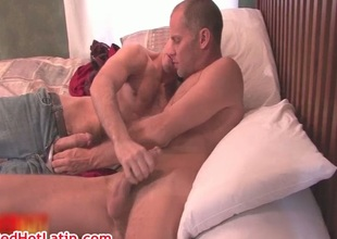 Matt Major and Cole Ryan sucking
