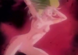 Combat and making love in a wild manga scene