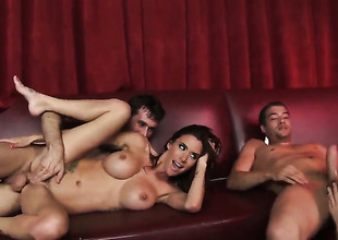 Gia Dimarco and indestructible dicked guy James Deen are in the mood for shagging