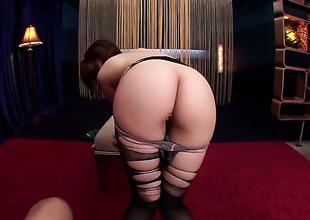 Hirono Imai demonstrates her body parts before she masturbates