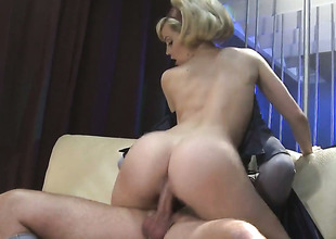 Alexis Texas makes her sex fantasies a reality with guys hard ram schlong in hands