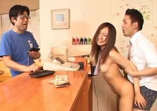 Sweet suitor gets her horny reverence tunnel pounded by a freakish creature