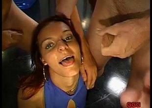German redhead cum battle-axe showing putting she swallows semen