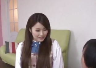 Runa Ayase, schoolgirl in heats, enjoys teacher¦s dick