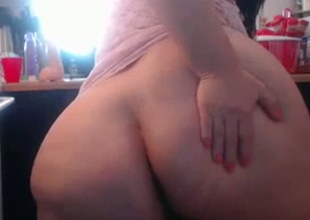 This BBW whore's fat booty could swallow up your head