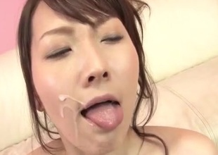 Shiori Uta gets toys to condemn her needy pussy