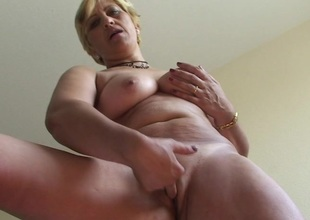Horny adult slut Teresa loves playing with her toys