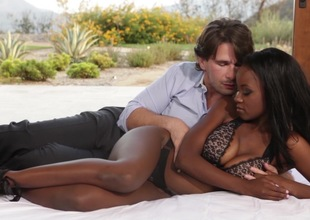 Savage interracial hardcore with Jezabel Vessir