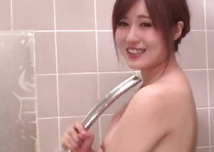 Mind blowing shower sex scenes not far from Yumi Maeda