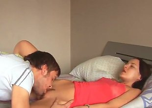 Ivana can not live a day without getting her mouth banged wide of hot dude