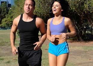 Adriana Chechik & Chad White in Nasty Athletics