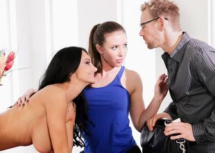 Ava Addams, Casey Calvert, Erik Everhard in Couples Seeking Girls #14,  Scene #03