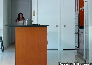 Stella Daniels inCaught in burnish apply air burnish apply act - PassionHD Video