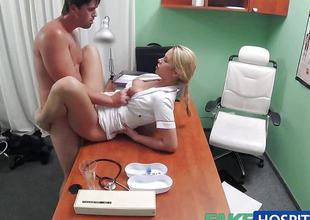 Randy nurse loves to have sex