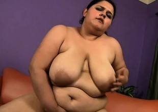 Chunky cosset Karla Lane has a big black dick giving her the pleasure she desires