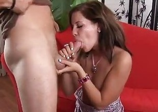 Bad Girl Teen Gets Blocked After Accidental Creampie