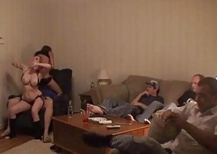 Lap Dance Orgy - Part 1