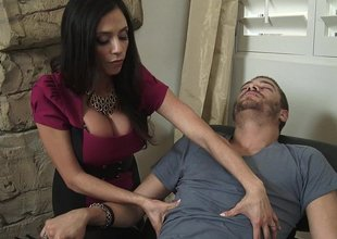 MILF's massage is always bonzer one