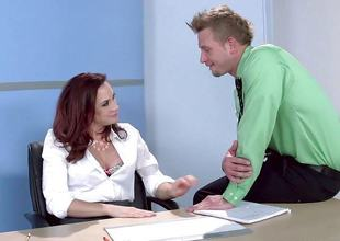 Chanel Preston fucks say no to pulchritudinous gleam convenient work