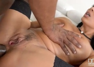 BBC stretches both holes be required of low-spirited Anissa Kate