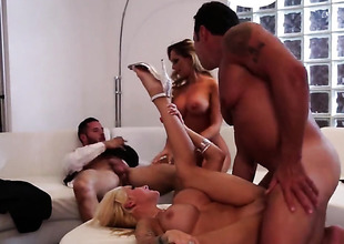 Group sex with hot next of kin