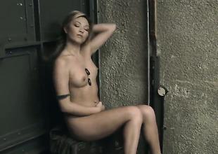 Natalia Forrest enjoys another masturbation session after she gets nude