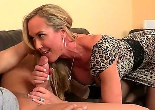Well-muscled milf with a wonderful and respecting ass is trying to have some sex in office. This babe attacks this boy and gives him a really wonderful blowjob. He advantages with some pussy licking