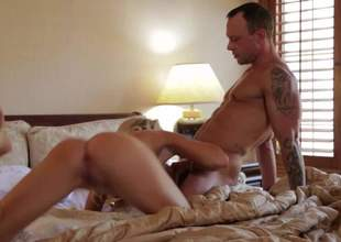 Sinfully sexy tattooed MILF golden-haired Jessica Drake gives moth job with her priceless mean ass almost and explosion sporadically bounces on cock. That babe arches her back during 10-Pounder riding. Hot bedroom action with bonny Jessica Drake!