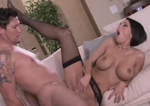 Great nylons check! Dylan Ryder check! Big ass jimmy check! When you combine those twosome you get a pretty awesome porn. Dont trust me Just watch the video and see what happens
