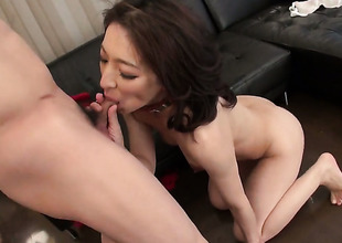 Dangerously horny excessive price Marina Matsumoto gets the pussy fuck of their way dreams with hard dicked dude