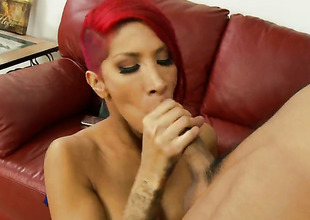 Chicana Kayla Carrera with an increment of hawt dude Keni Styles have a fun oral job pleasure