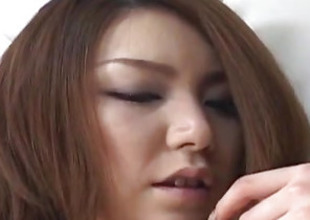 Rio Sakaki order about has perishable vagina pumped