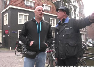One unlucky guy gets a free roll with a hooker in Amsterdam
