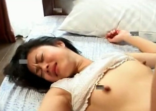 This Asian nympho has a lust be useful to sex in advance of the camera