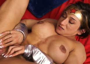 Wonderwoman is strong and independed but still addicted to dick