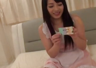 Kokona Sakurai gets a strong dong to crack her foundry