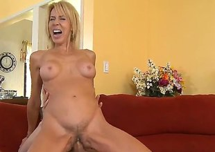 Blond Erica Lauren is good on her way to satisfy her hard cocked have sex buddy Chris Johnson