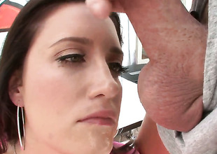 Kimberly Kane gets her soaking juicy pussy used by hot tramp